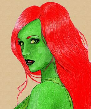 Poison Ivy by DamnBlackHeart