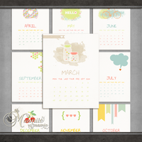 Cloud 9 Calendar 2013 by DaydreamersDesigns