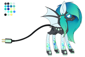 [CLOSED] Common Musical Fountain Pony Adoptable by Gaster-Story