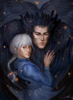 Howl and Sophie by axxxa06