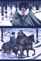 John Snow sketches by Pulvis