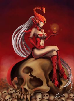 Pepper-Mistress of Hell by PepperProject