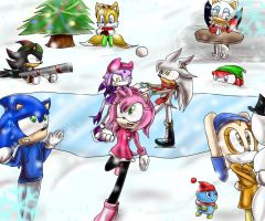 Sonic winter contest by Cometshina