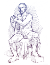 Figure drawing 12-15-16 -NSFW- by ErinPtah