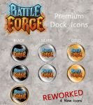 Battle Forge Premium Icons by Kaldrax