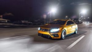 2017 GOLD Volkswagen CC Luxurious Sporty Coupe by ROGUE-RATTLESNAKE