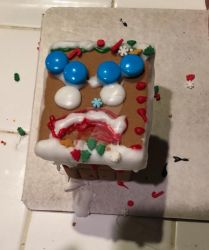 Merry maurader ginger bread house by fossil-fighter
