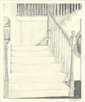 Stairspective by ErinDromeda