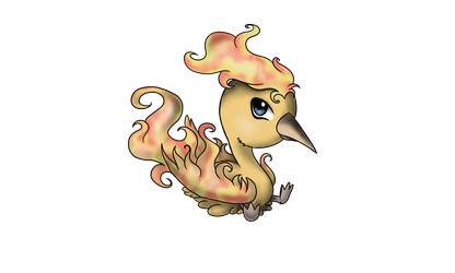 Baby Moltres by ThePiage