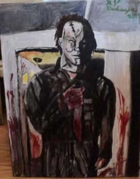 Michael Myers Rob Zombie's Halloween by HorrorArtistfromCali