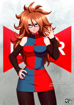 DRAGONBALL FIGHTER Z : Android 21 by jadenkaiba