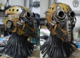Nullifier robot helmet work in progress by TwoHornsUnited