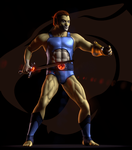 TC - Lion-o - Turntable GIF 1 by paulrich