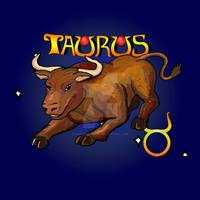 Taurus by DarkRubyMoon