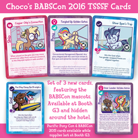 New TSSSF Cards at BABSCon 2016 by SouthParkTaoist