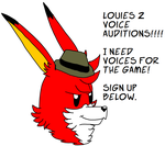 Louies RPG 2 Voice Auditions!!! (Cancelled) by DemonLouie