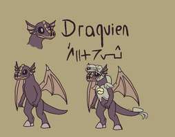 Draquien early concept by Snewbew