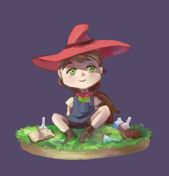Little Witch by Yiamme
