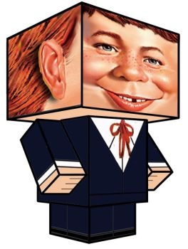 Cubee - Alfred E. Neuman by 7ater