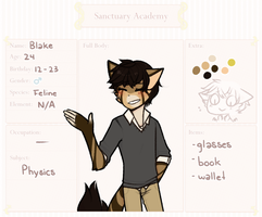 S-A: Physics | Blake Whitney by sylveonprince