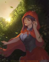 Red Riding Hood by shoshoxiang
