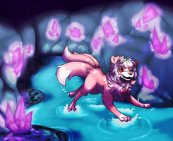 Crystal Cave by Eternity9