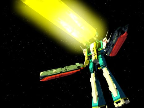 SDF-1 Attack Mode Firing by X1Commander