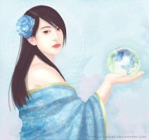Blue Rose by lilsuika