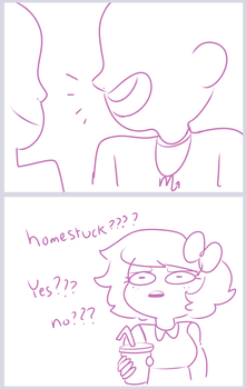 is that homestuck.. by Zamiiz
