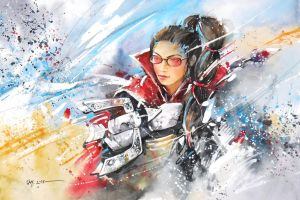 League of Legends - Vayne, The Night Hunter by Abstractmusiq