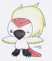 Lader the Bird by Red-head-girl