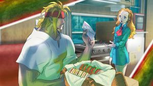STREET FIGHTER V - Character History - Alex (3) by Zeref-ftx
