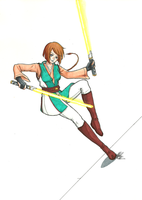 Jedi OC - Copic by ThirdEcho