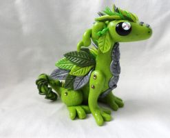 Forest Dragon Sculpture by ByToothAndClaw