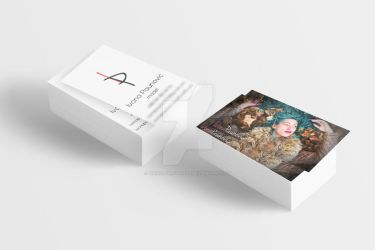 Business Card by Vierna-Drottingu