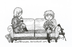 APH Inktober2018 - 2 - Tranquil by LoveEmerald