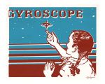 Gyroscope in Blue and Red by TimBeard