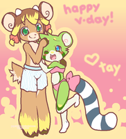 Happy Valentine's Day by drill-tail
