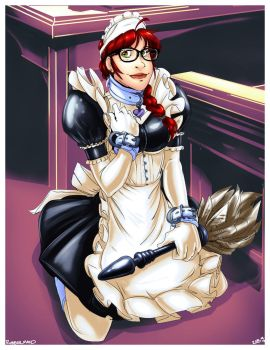 Rubber Maid by CommanderRab