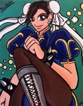 ChunLi_AcrylicPicture_MyStyle by AbyssRandom