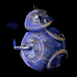 BB8 The Last Jedi by MartyRossArts