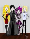 Adam and his friends by Krisza