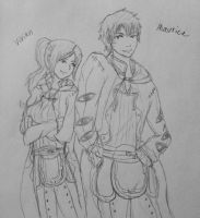 Maurice and Vivian by Rizu-arts