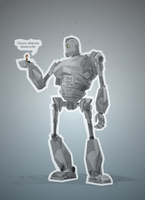 Iron Giant by justincurrie