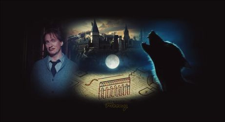 Remus Lupin | wallpaper | by stasiabv