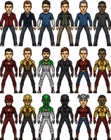 CW Speedsters (Including my OC) by SpiderTrekfan616