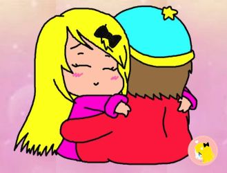 what if Liza hug Cartman in a anime situation?(RP) by Kawaii-Artistic