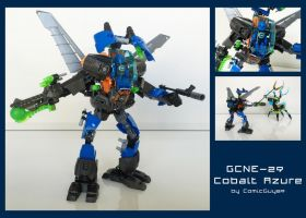 LEGO MOC - GCNE-29 Cobalt Azure by ComicGuy89