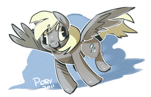 Derpy by fossilizer