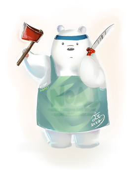 I love Ice Bear by eisjon